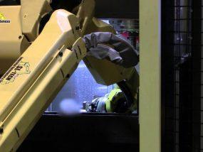 Bin Picking Robotic cell